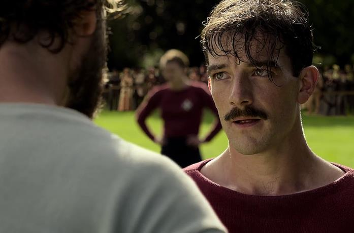 Kevin Guthrie nella serie The English Game