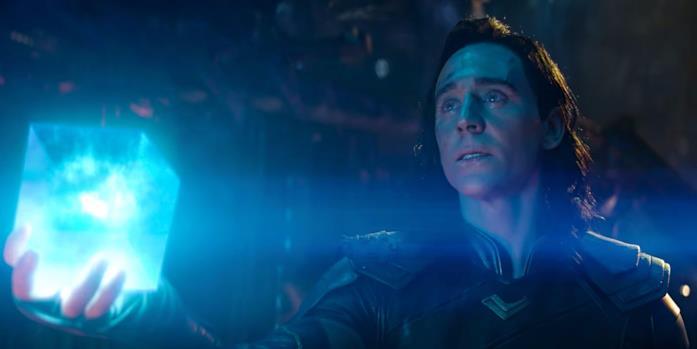 Tom Hiddleston è Loki in Avengers: Infinity War