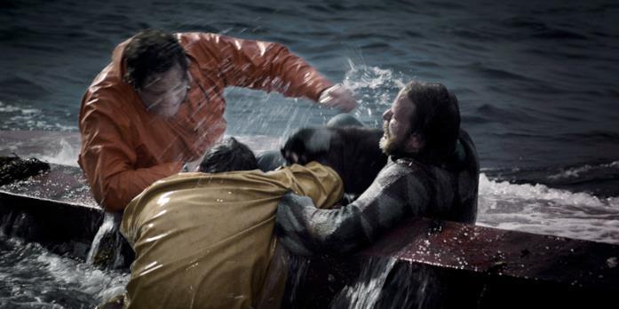 The Deep: i tre sopravvissuti subito dopo il naufragio