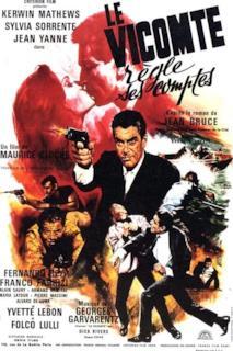 Poster The Viscount: Furto alla banca mondiale