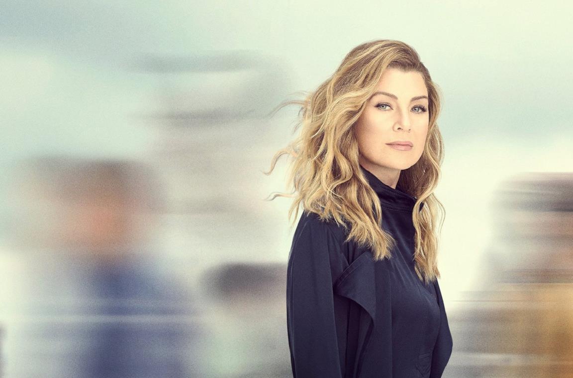 Il poster di Grey's Anatomy 16 con la protagonista Meredith