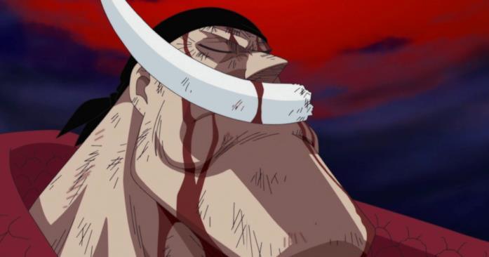 La morte di Edward Newgate in One Piece