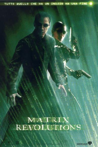 Poster Matrix Revolutions