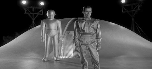 L'alieno Klaatu e il robot Gort di Ultimatum alla Terra