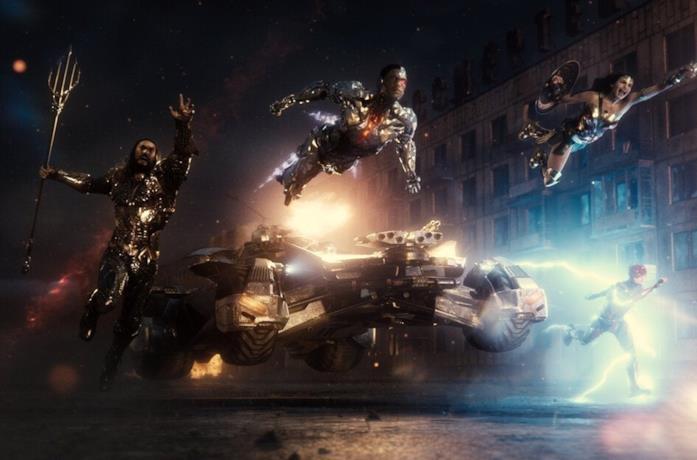 Un'immagine della Justice League