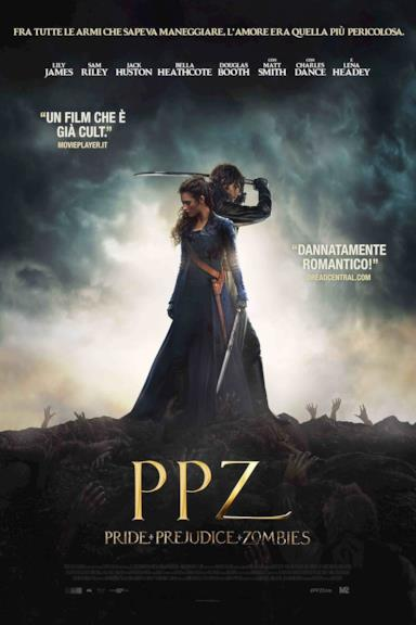 Poster PPZ: Pride and Prejudice and Zombies