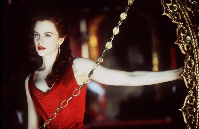 Nicole Kidman in una scena di Moulin Rouge!