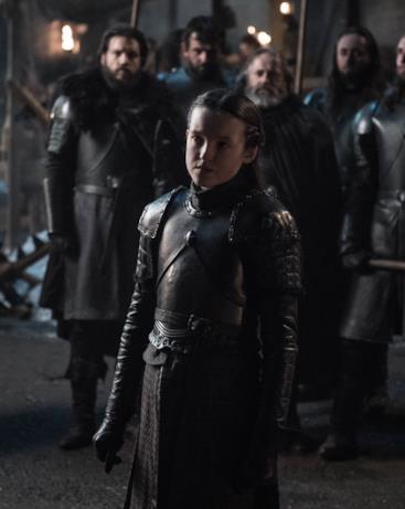 Lyanna Mormont in GoT 8x02