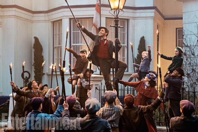 Uno dei numeri musicali del nuovo sequel di Mary Poppins
