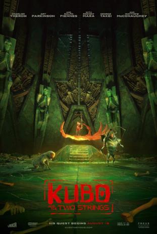 Kubo e i suoi alleati nella locandina del film