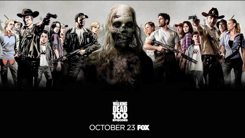 Poster episodio 100 di The Walking Dead: stagione 1