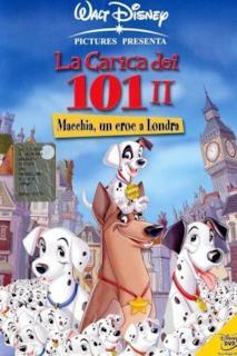 Poster La carica dei 101 II - Macchia, un eroe a Londra