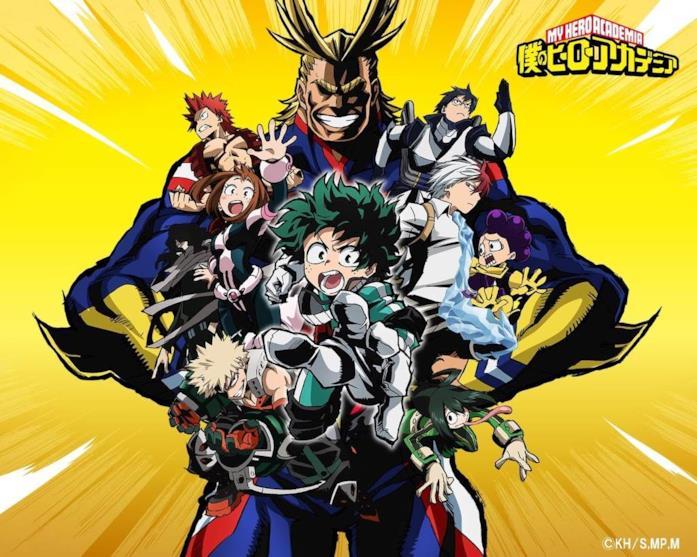 My Hero Academia anime