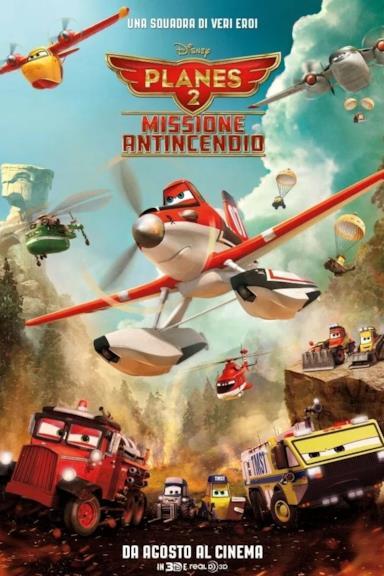 Poster Planes 2 - Missione antincendio