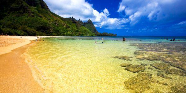 Uno scorcio dell'isola di Kauai
