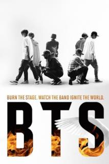 Poster BTS: Burn the Stage