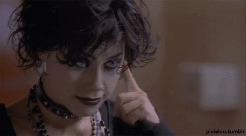 Fairuza Balk è Nancy in una scena di Giovani Streghe