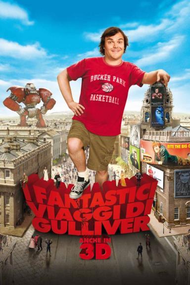 Poster I fantastici viaggi di Gulliver