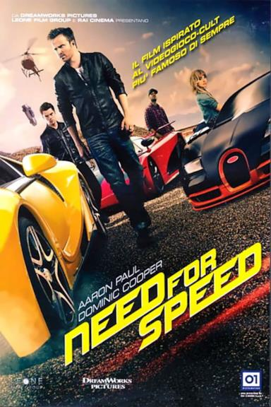 Poster Need for Speed