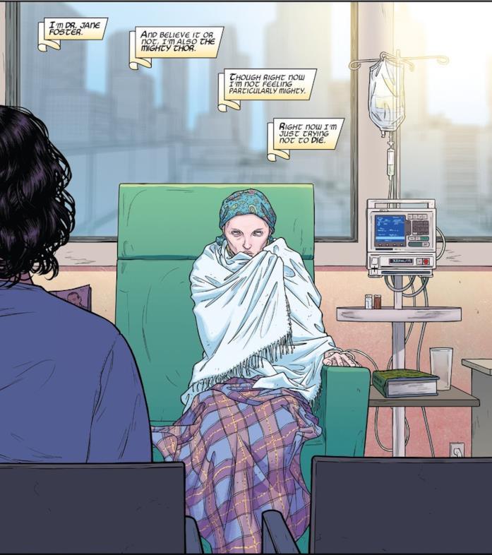 Jane Foster nei fumetti