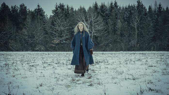 Freya Allan nei panni di Ciri in The Witcher