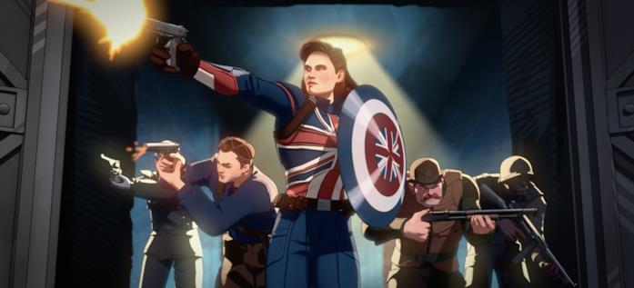 Captain Carter e i suoi alleati