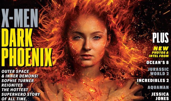 Sophie Turner sulla copertina di Entertainment Weekly nei panni di Jean Grey