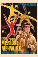 Poster Agente Lemmy Caution, missione Alphaville