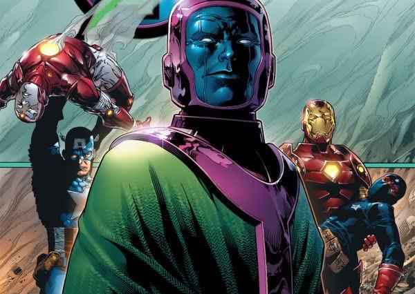 Dettaglio della cover di Young Avengers #4