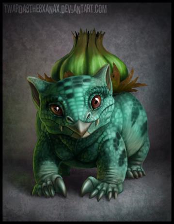 Il Bulbasaur realistico di Karolina Twardosz