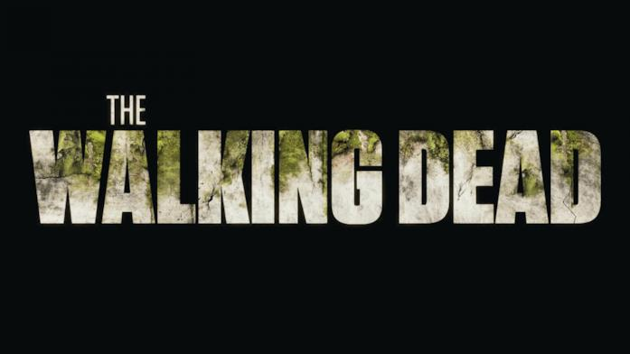 The Walking Dead: il logo della serie