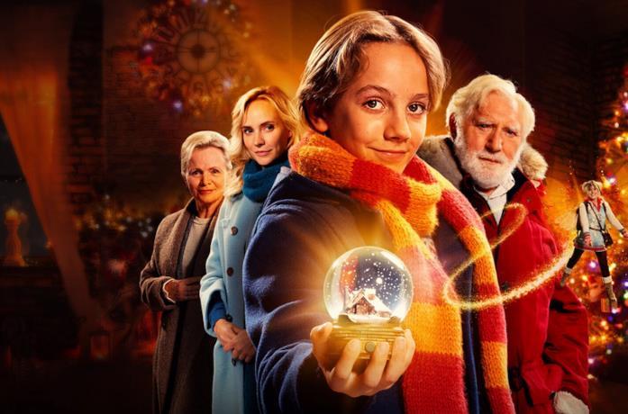 Il cast di The Claus Family