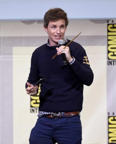 Eddie Redmayne al Comic-Con di San Diego