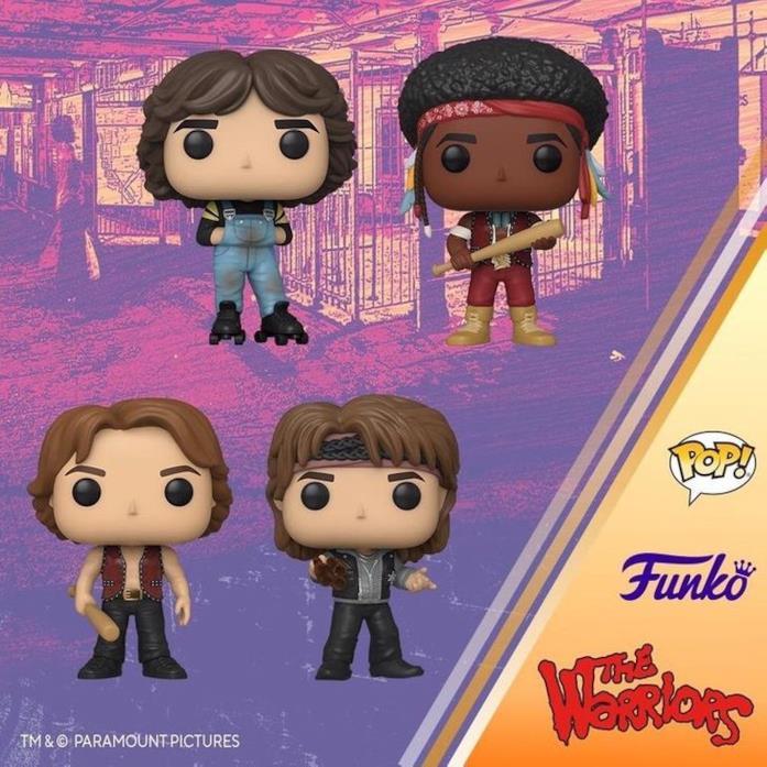 The Warriors: i nuovi Funko Pop