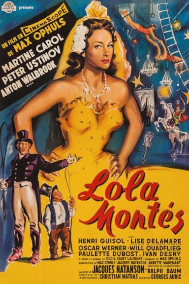 Poster Lola Montès