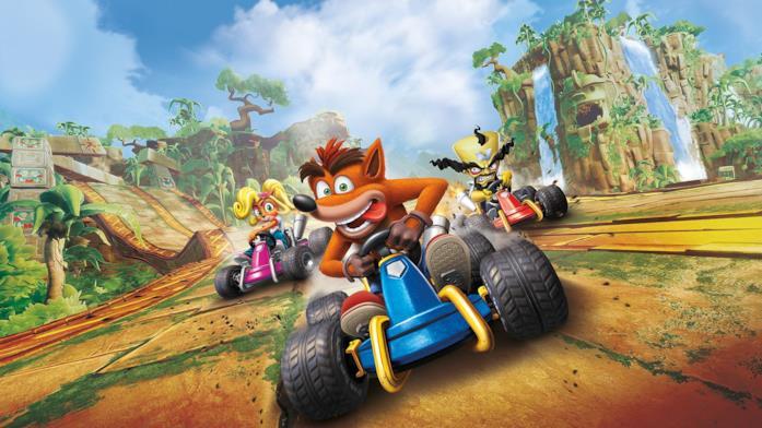 Crash e i suoi amici tornano a correre in Crash Team Racing Nitro-Fueled