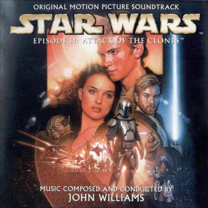 Copertina del cd di Star Wars Episodio II