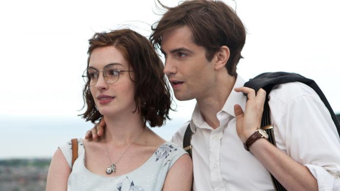 Una scena di One Day con Anne Hathaway e Jim Sturgess