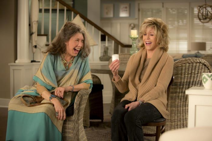 Grace e Frankie se la ridono beatamente