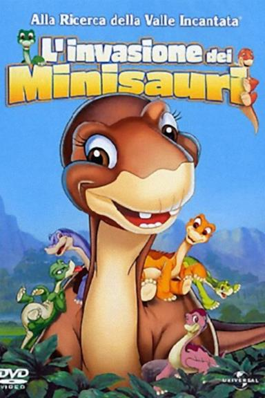 Poster Alla ricerca della valle incantata 11 - L'invasione dei minisauri