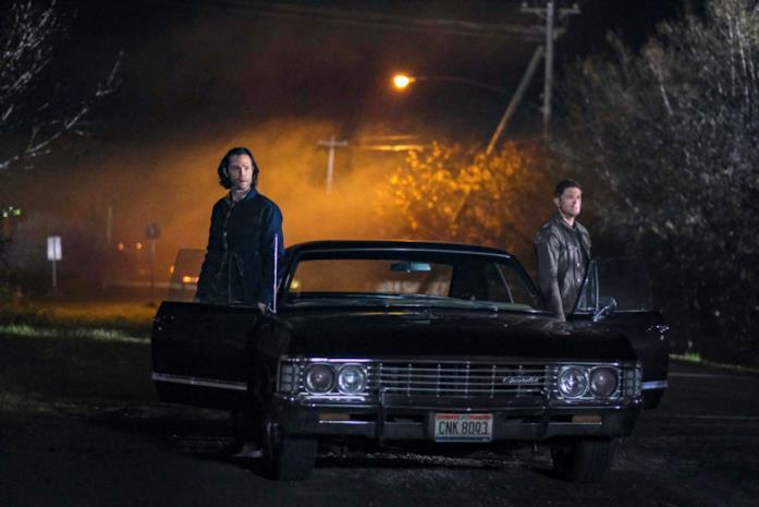 Jared Padalecki e Jensen Ackles in Supernatural