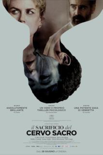 Poster Il sacrificio del cervo sacro