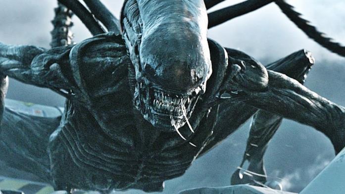 Un'immagine tratta da Alien: Covenant