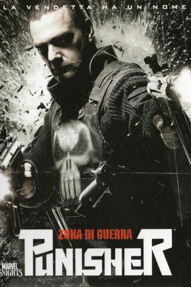 Poster Punisher - Zona di guerra