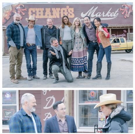 Il cast della serie TV di Tremors con Kevin Bacon