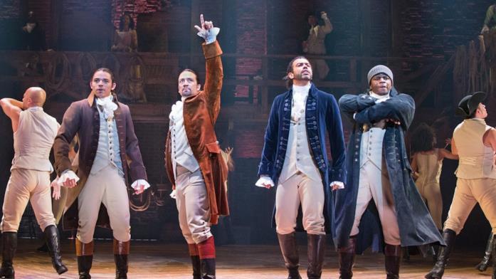 Un'immagine del film Hamilton