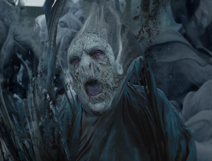 Voldemort, muore sgretolandosi