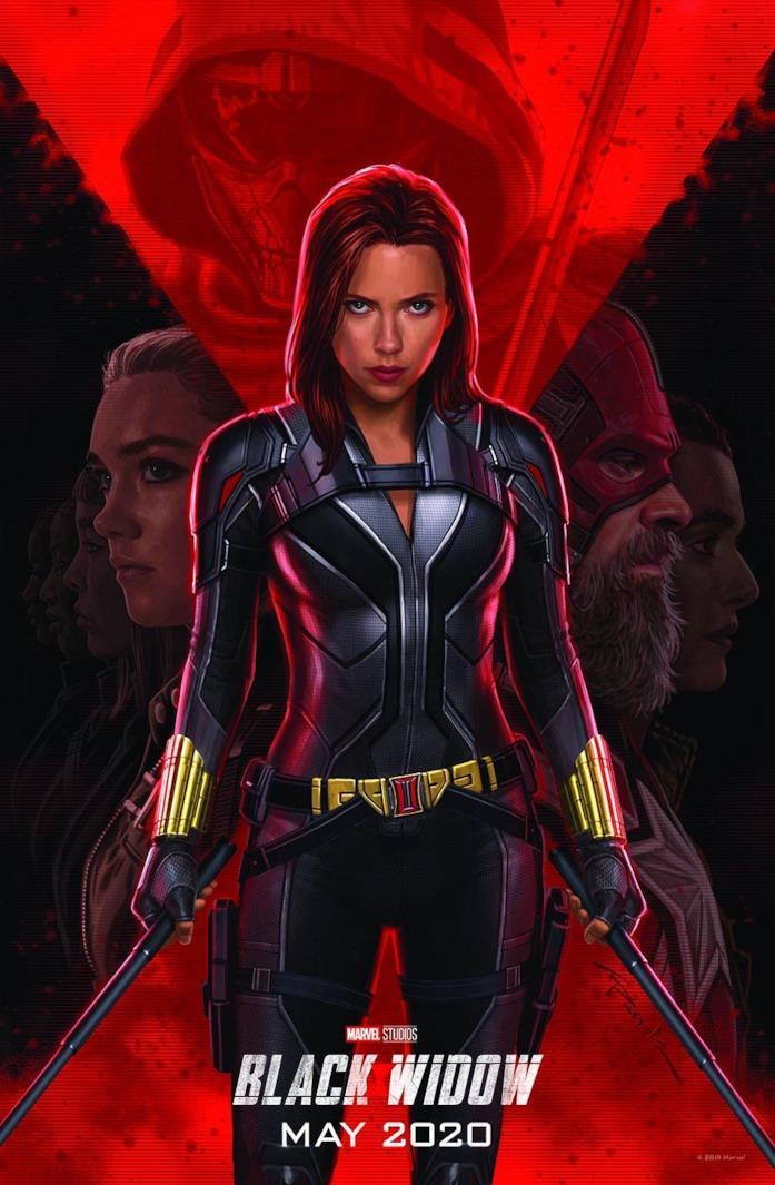 Il poster ufficiale di Black Widow (2020)
