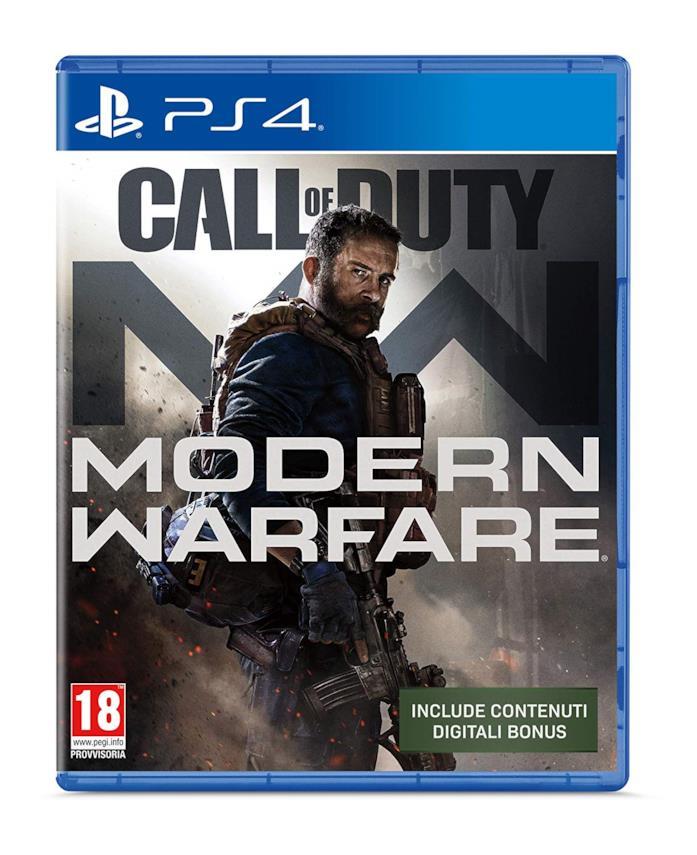 La copertina di Call of Duty Modern Warfare (2019) per PlayStation 4