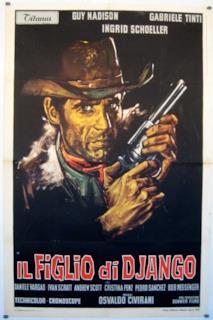 Poster Il figlio di Django